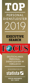 Top Personaldienstleister Executive Search 2019 Logo