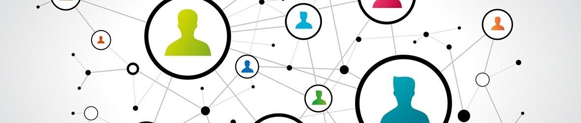 Skizze eines Kontaktnetzwerkes
