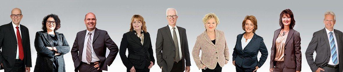 Foto der Partner der ES Group im Jahr 2020